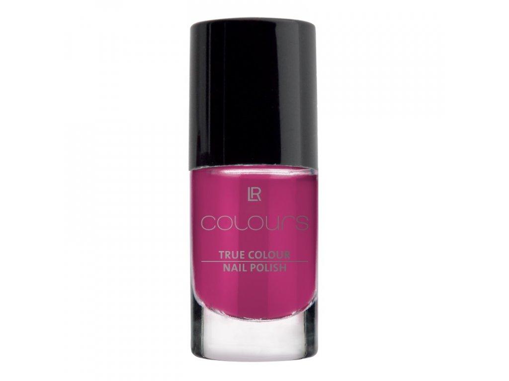 Lak na nehty True Colour (odstín Foxy Fuchsia) 5,5 ml
