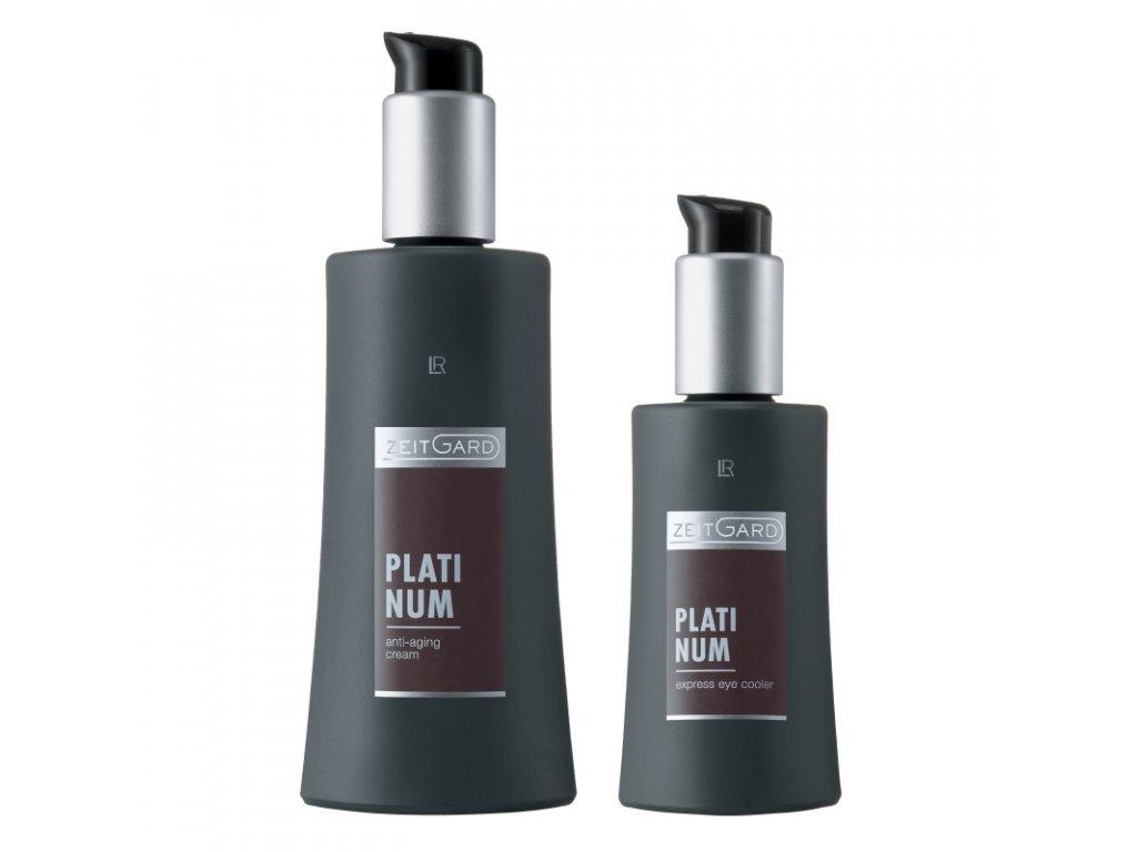 """ZEITGARD Platinum Anti-aging krém 50 ml + Revitalizační oční gel """"Express"""" 30 ml dárková sada"""