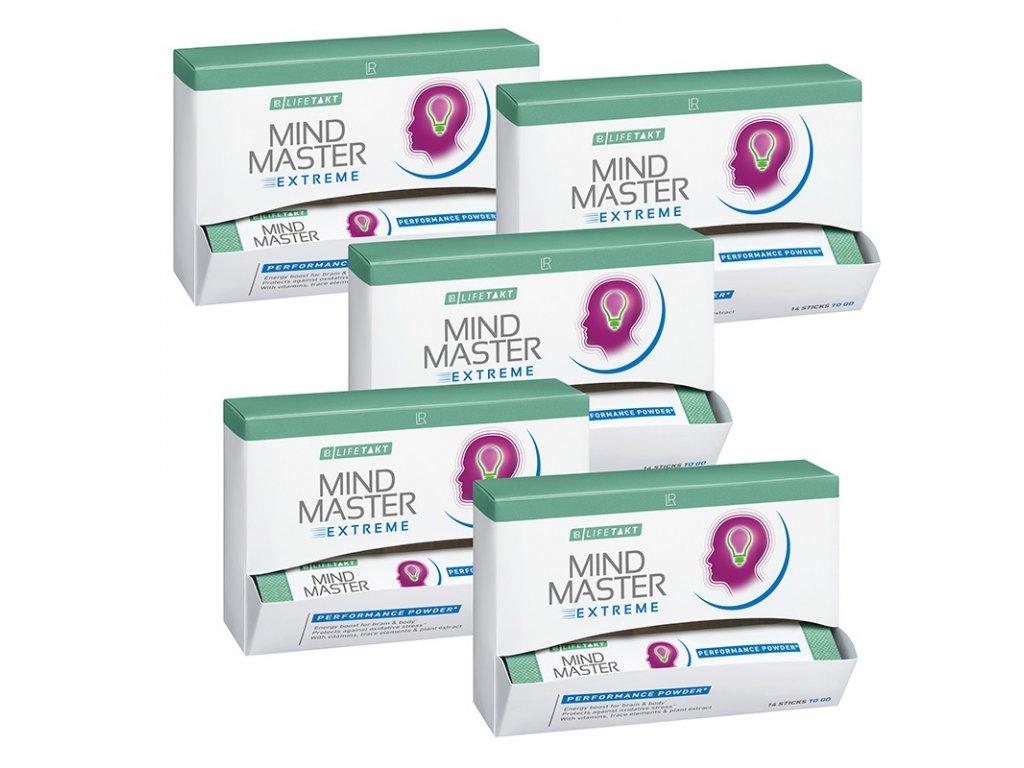 LR LIFETAKT Mind Master Extreme Performance Powder Série 5 ks 5 x 14 sáčků po 2,5 g