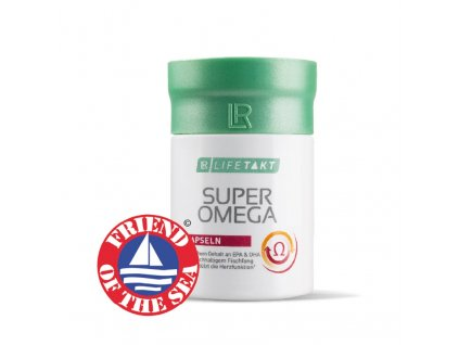 LR LIFETAKT Super Omega Kapsle 60 kapslí / 100,8 g