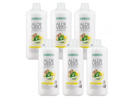 Aloe Vera Drinking Gel Immune Plus Série 6 ks 6 x 1 000 ml