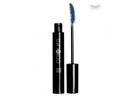 Mascara pro objem a natočení řas (Night Blue) 10 ml