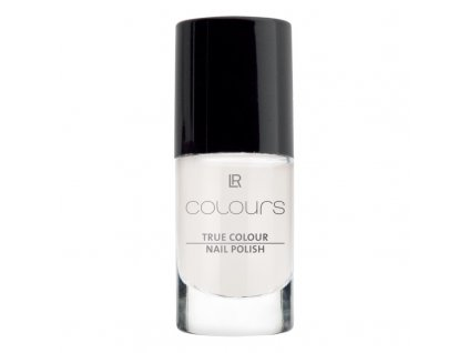 Lak na nehty True Colour (odstín Marshmallow White) 5,5 ml