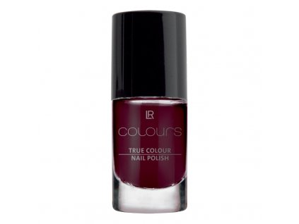 Lak na nehty True Colour (odstín Black Cherry) 5,5 ml