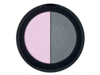 Minerální oční stíny Duo (odstín Rose & Grey) 2 x 1,25