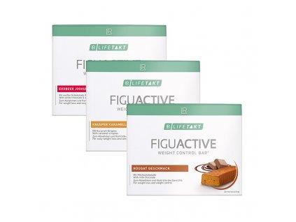 FiguActiv tyčinky mix série 3 balení 3 x 6 ks