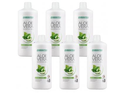 LR LIFETAKT Aloe Vera Drinking Gel Intense Sivera Série 6 ks 6 x 1 000 ml