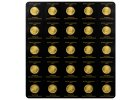 zlaté mince 25x1g (0,8 oz)
