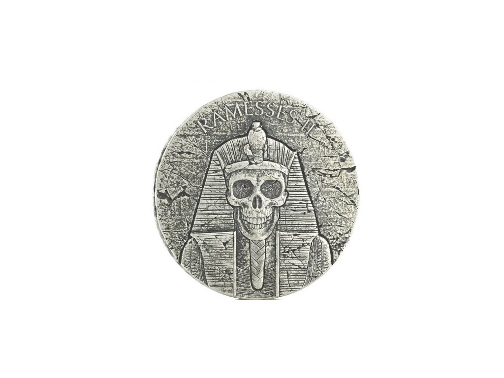 chad 2 oz silver ramses ii 2017 after life