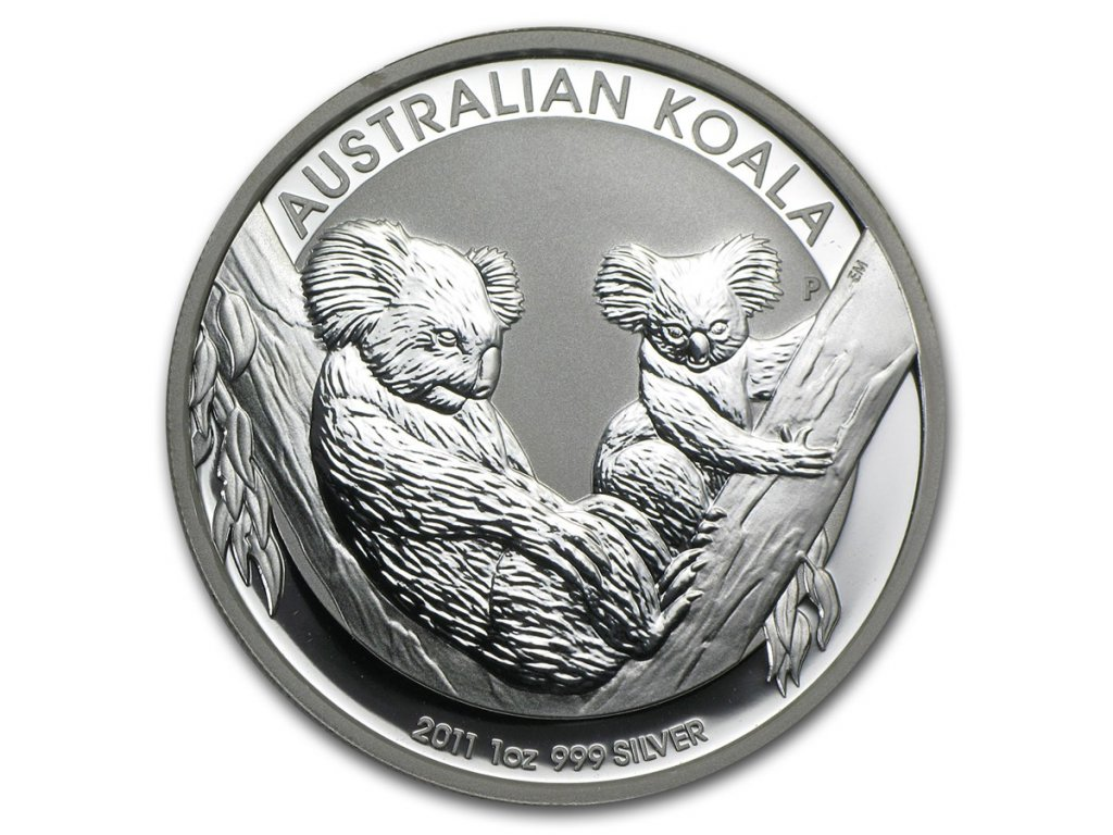 2011 australia 1 oz silver koala bu 59018 Obv