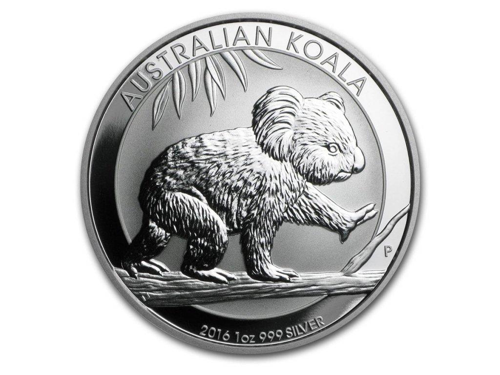 2016 australia 1 oz silver koala bu 92664 Slab