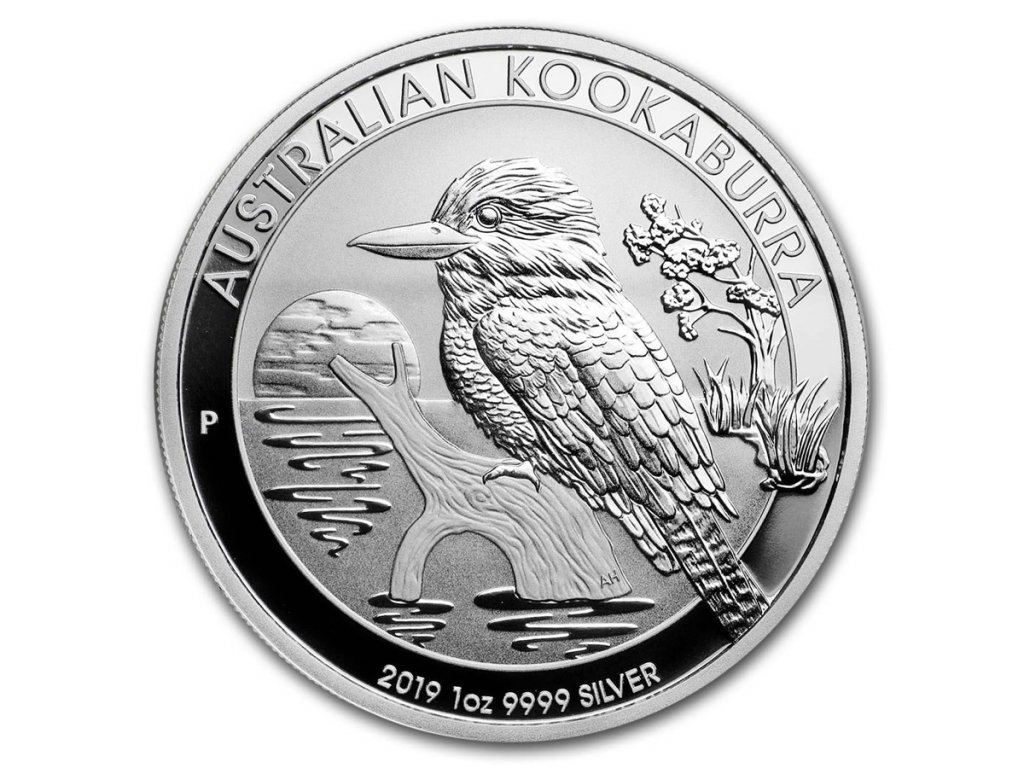 2019 australia 1 oz silver kookaburra bu 171689 slab