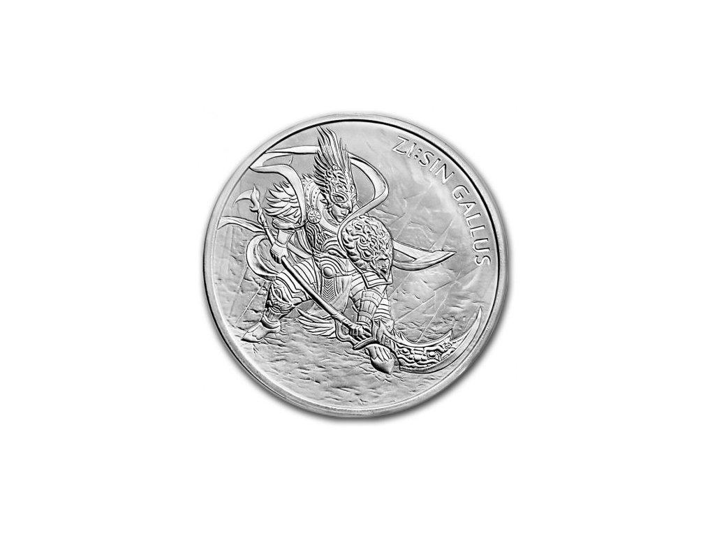 1 oz silver sin gallus 2017 south korea