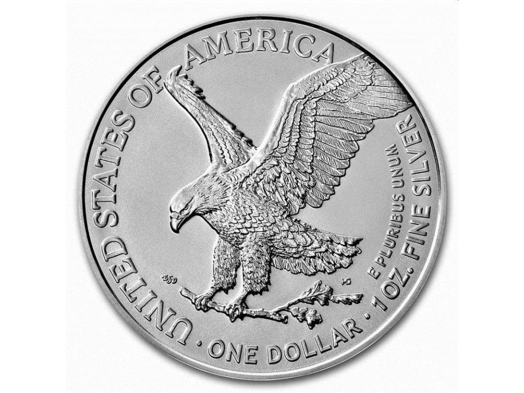 1 oz silver us silver eagle 2021 1 type 2