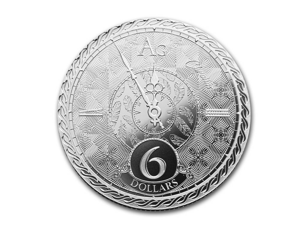 2020 tokelau 1 oz silver 6 chronos 215095 obv
