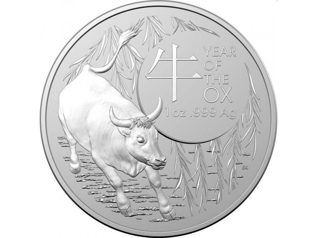 ram 1 oz silver lunar ox 2021 1 australia