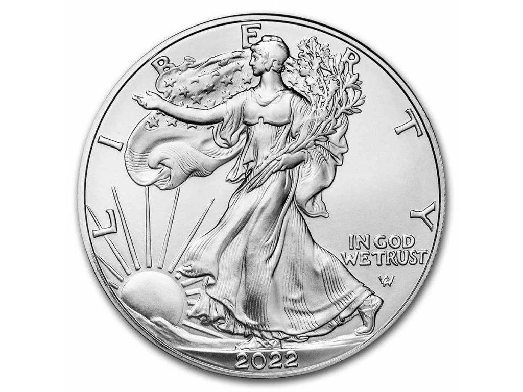 2021 1 oz american silver eagle bu 218577 slab