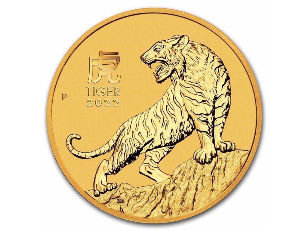 2022 australia 1 oz gold lunar tiger bu series iii 237602 slab