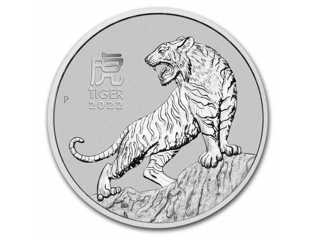 2022 australia 1 oz platinum lunar tiger bu series iii 237638 slab