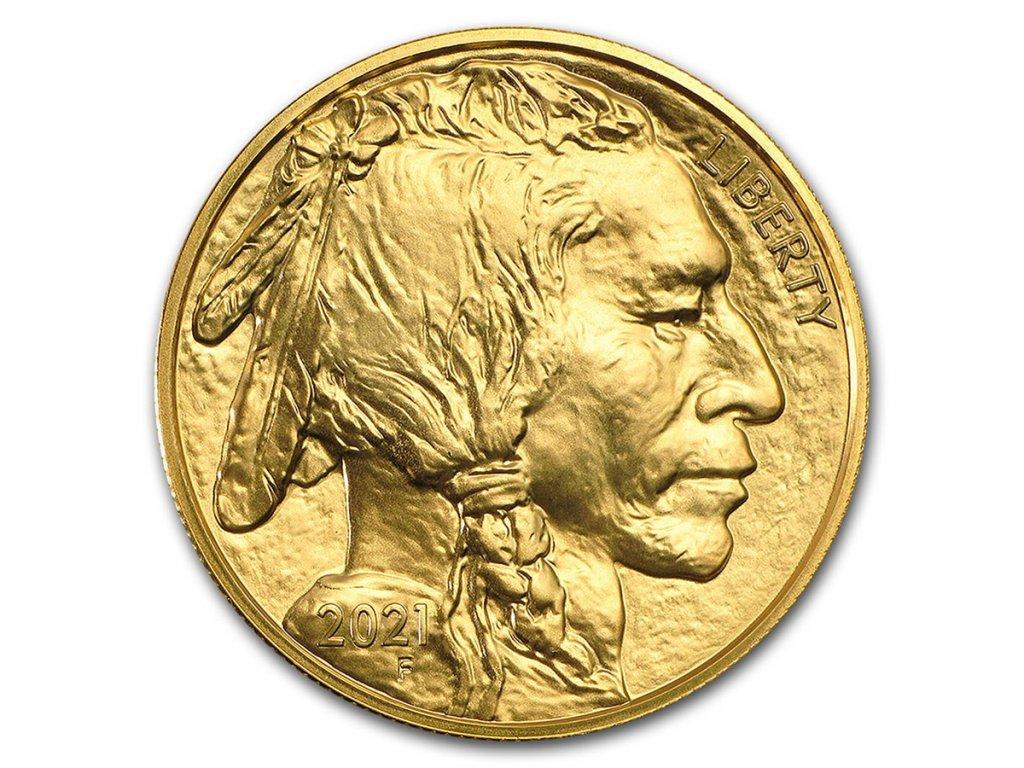 2021 1 oz gold buffalo bu 223496 slab