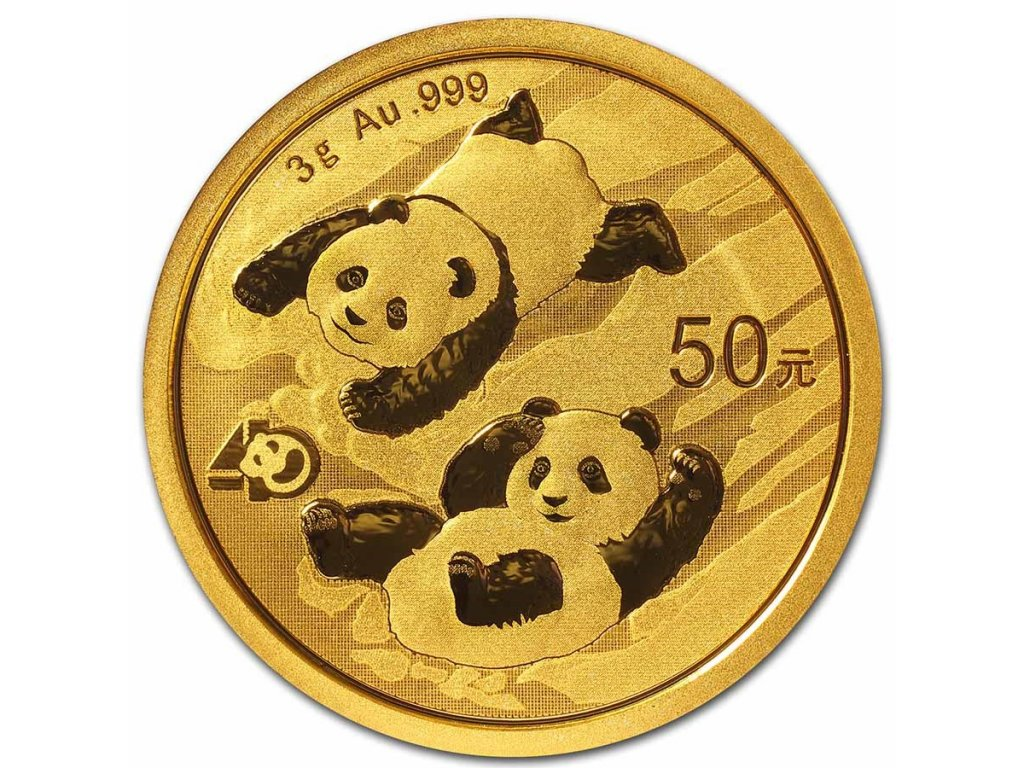 2021 china 3 gram gold panda bu sealed 223709 slab