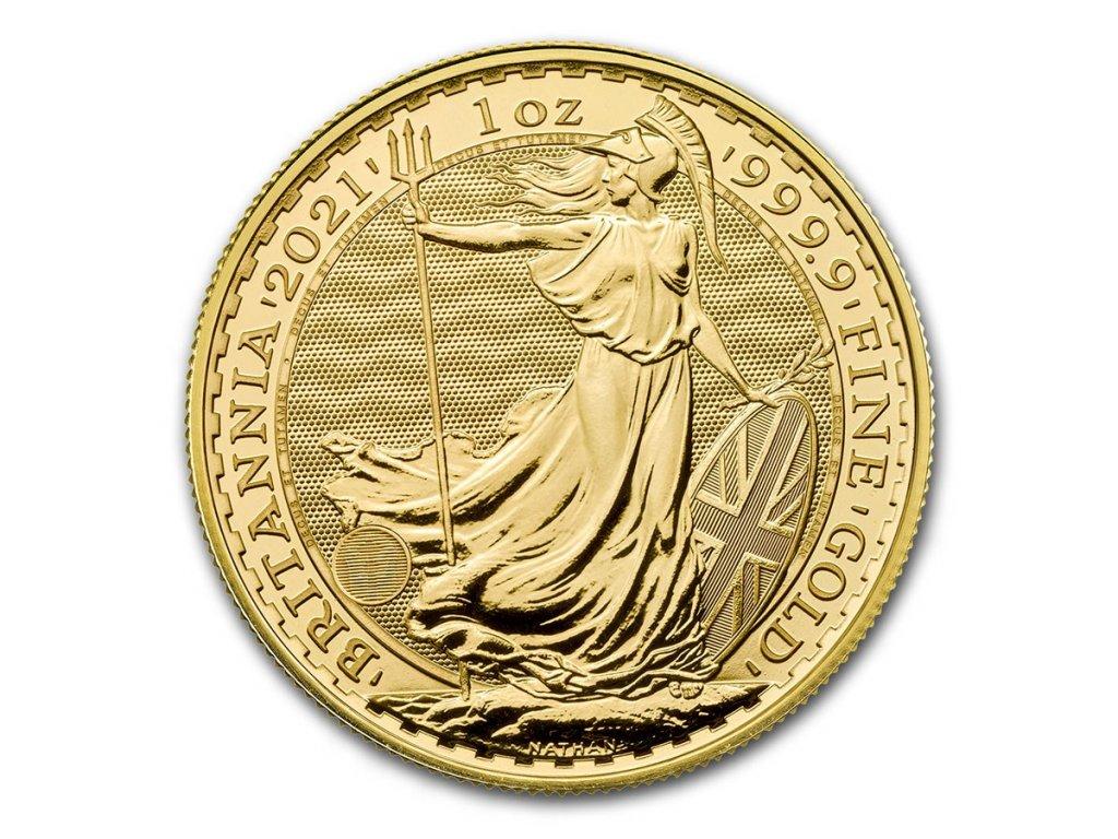 2021 great britain 1 oz gold britannia bu 219229 slab