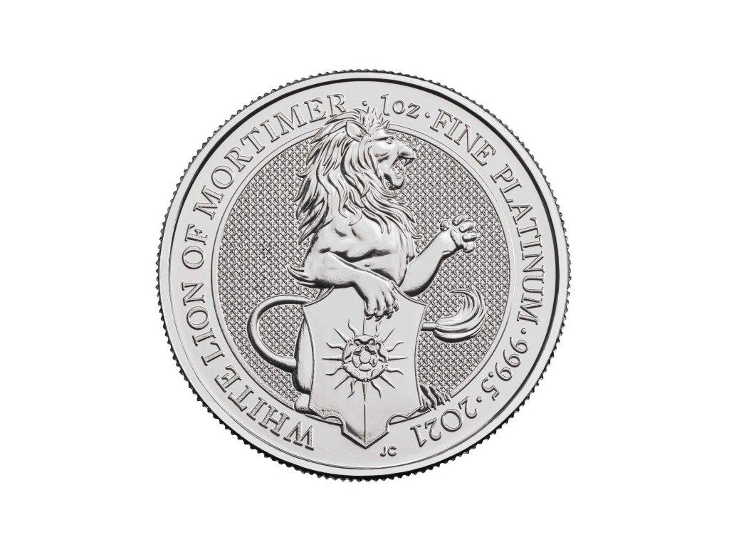 2021 1 oz uk platinum the white lion mortimer observe(2)