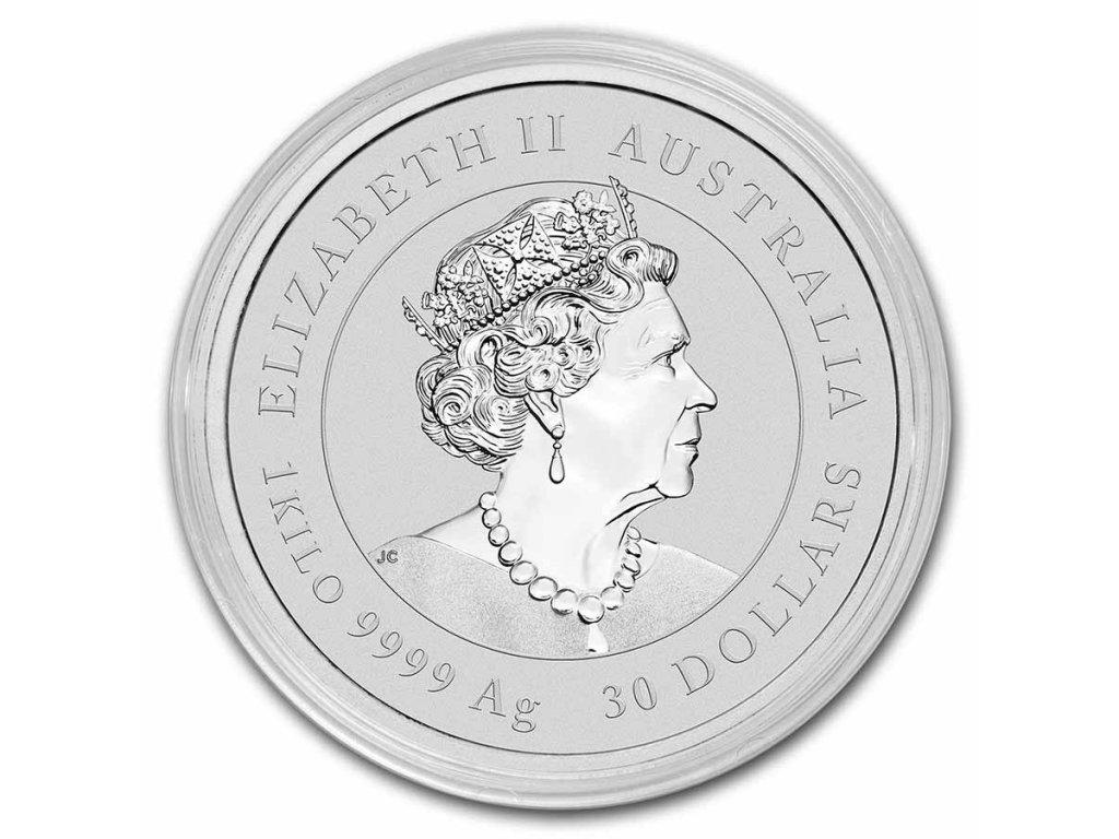 2021 australia 1 oz silver lunar ox bu series iii 217481 obv