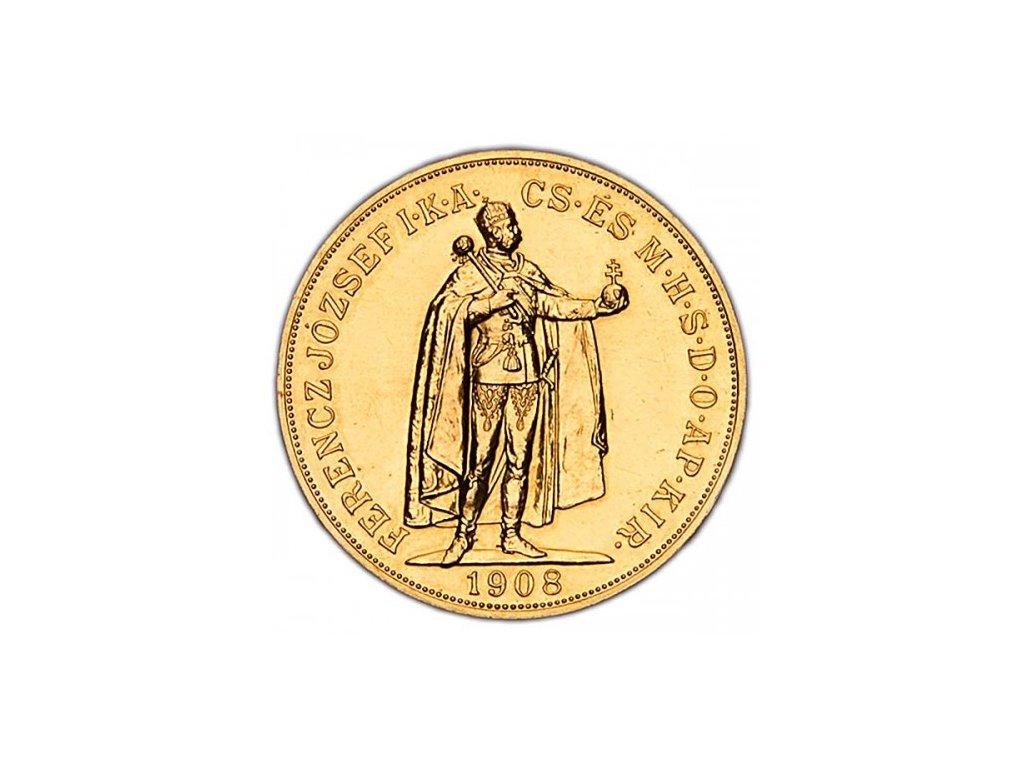 100 korun r. 1908