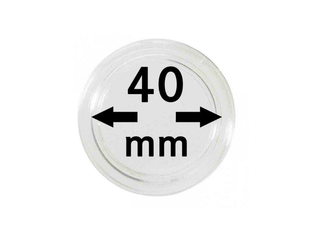 Muenzkapsel 40mm
