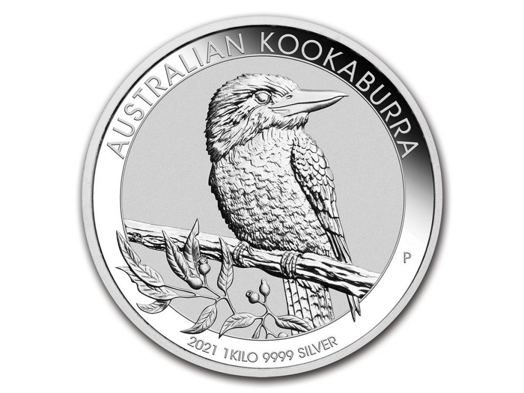 2021 australia 1 kilo silver kookaburra bu 218833 slab