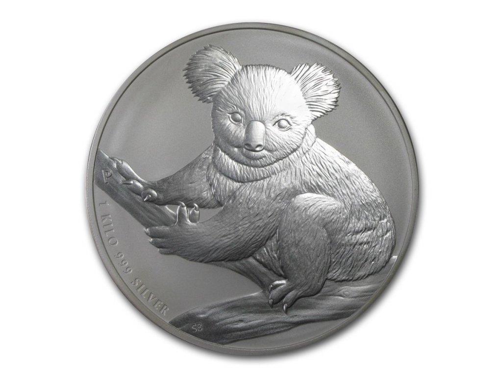 2021 australia 1 kilo silver koala bu 218837 slab