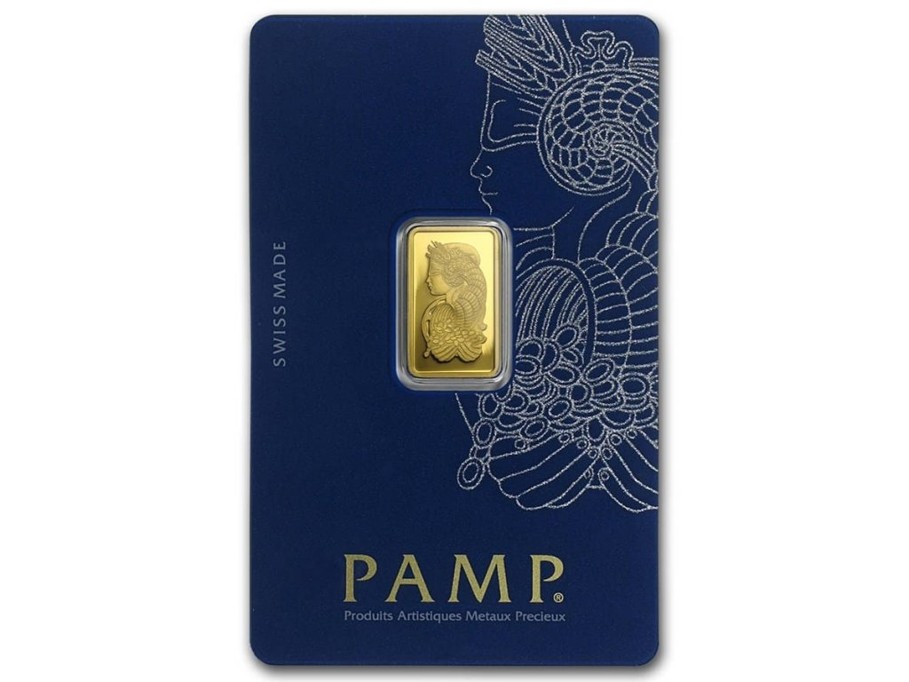 2 5 gram gold bar pamp suisse lady fortuna veriscan in assay 82248 Slab