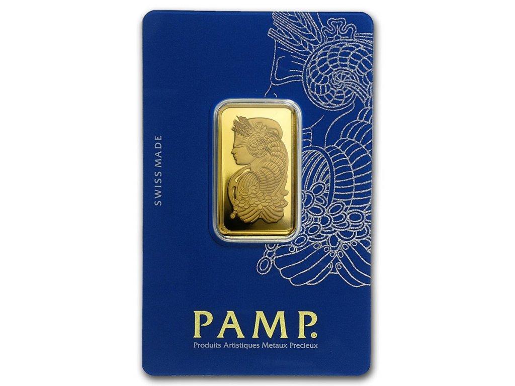 20 gram gold bar pamp suisse fortuna veriscan in assay 49374 Slab