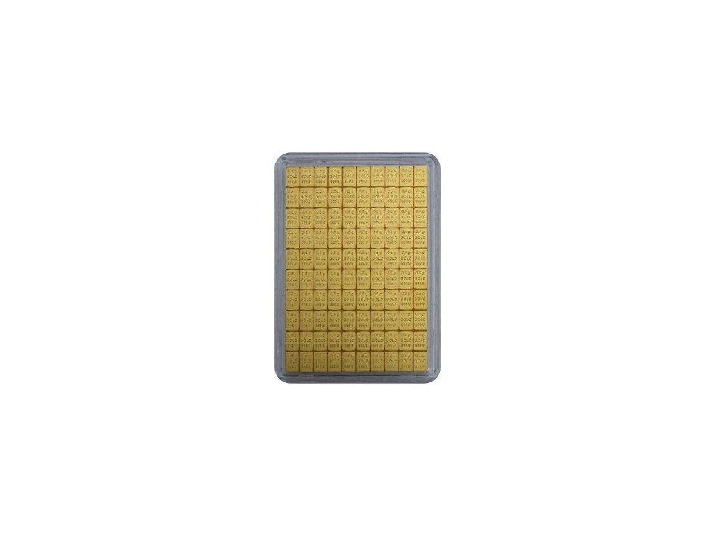 100x 0.5 gramm tafelbarren
