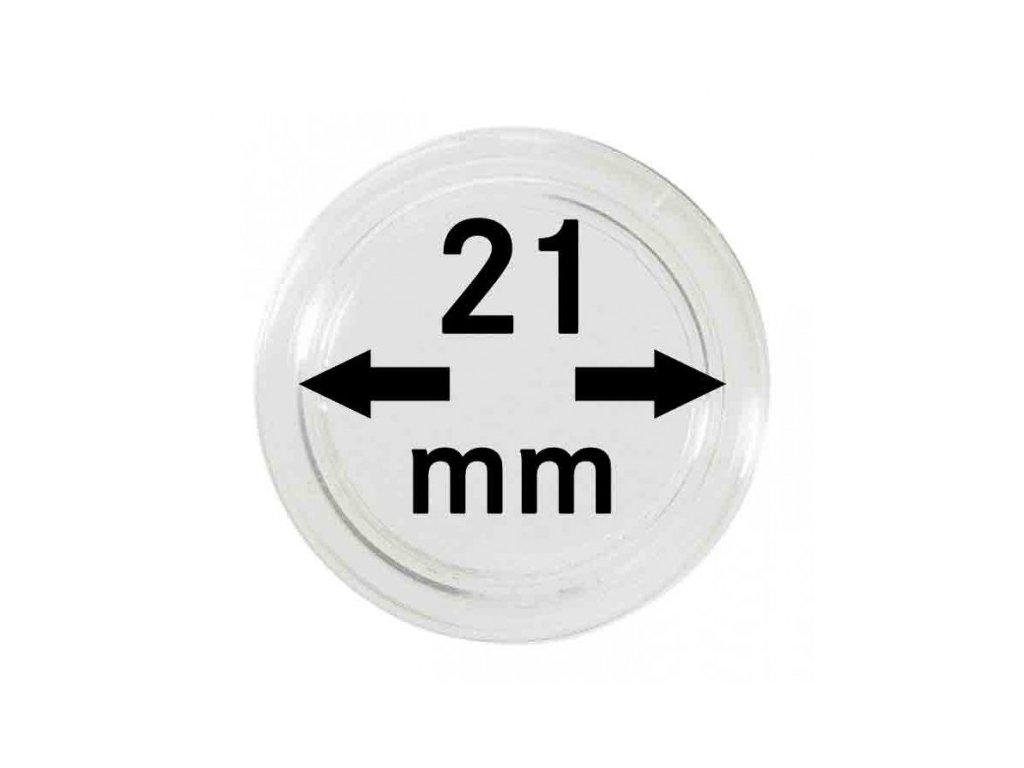 Muenzkapsel 21mm