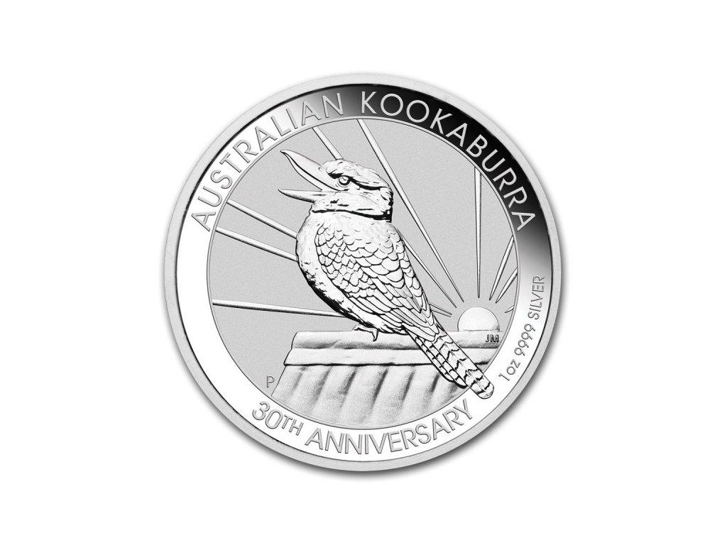 2020 1oz silver australia kookaburra 30th anniversary coin(2)