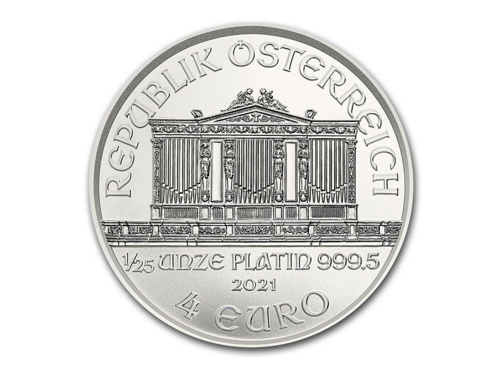 2021 austria 1 25 oz platinum philharmonic bu 224923 rev