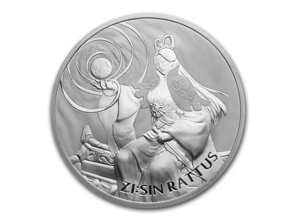2020 south korea 1 oz silver zisin rattus bu 211173 obv