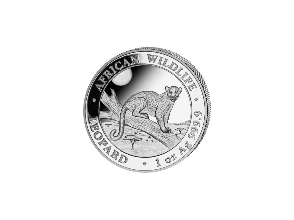 1 oz silver somalia leopard 2021 100 shillings