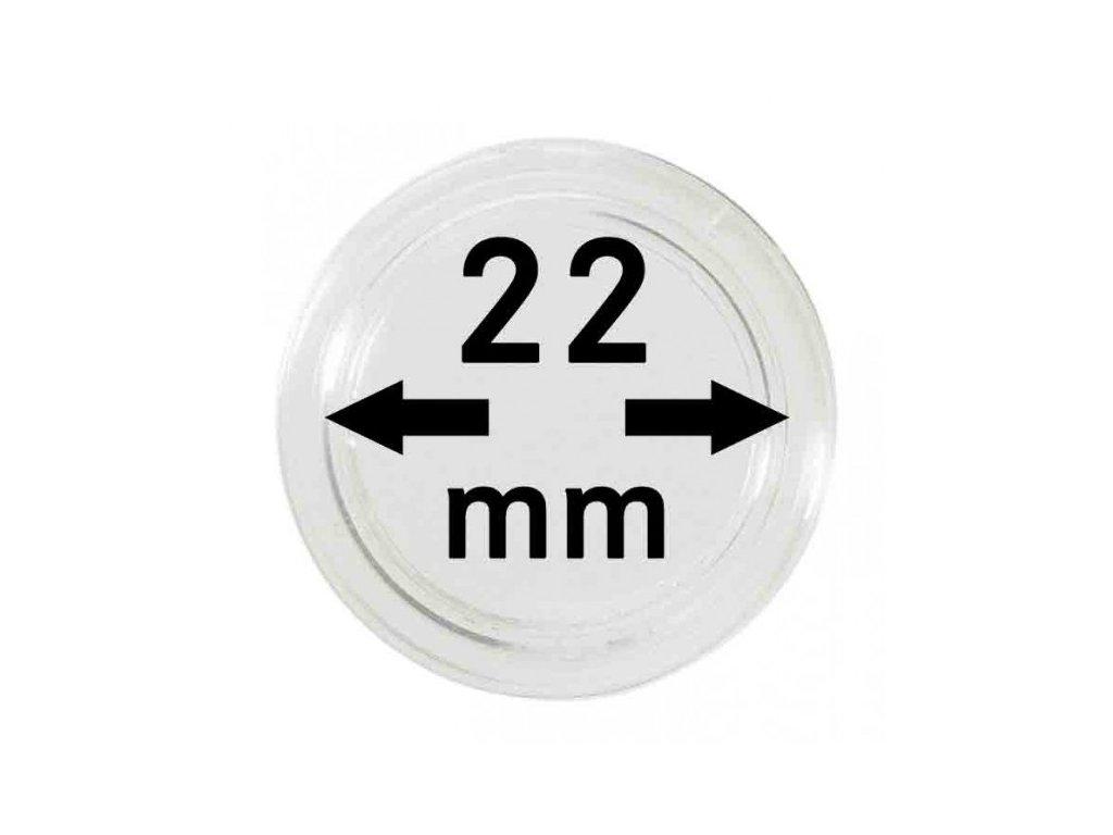 Muenzkapsel 22mm