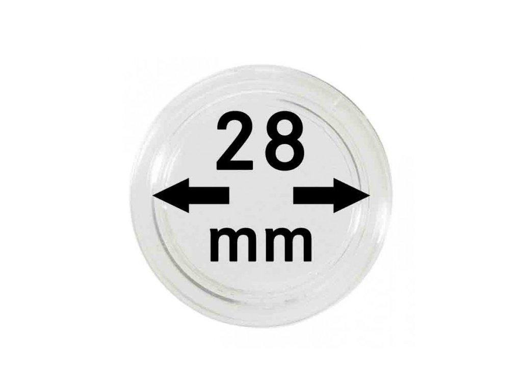 Muenzkapsel 28mm
