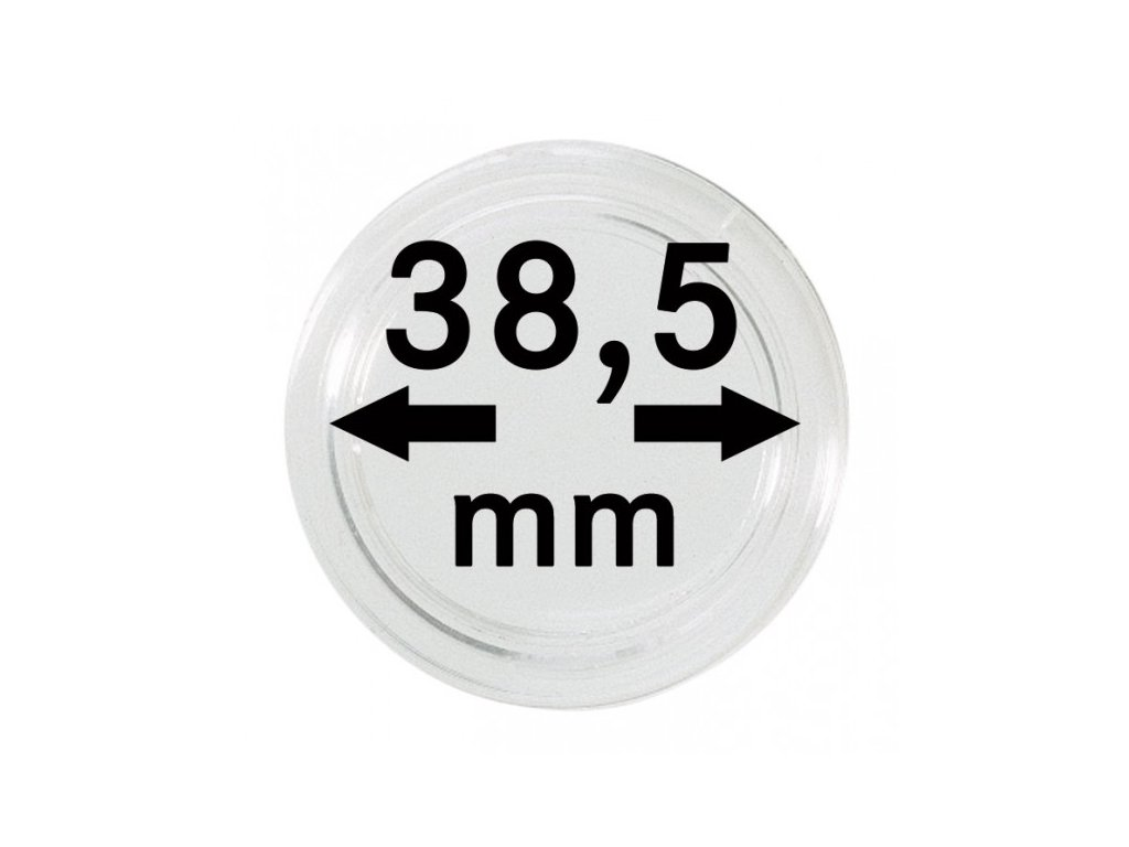 Muenzkapsel 38 5mm