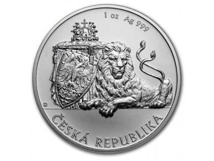 2019 niue 1oz silver czech lion coin(1)