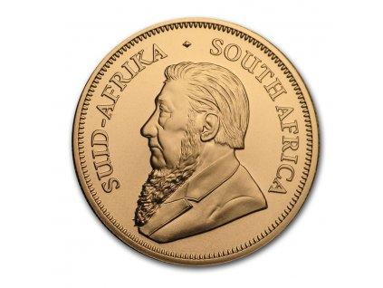 2020 south africa 1 oz gold krugerrand bu 198442 rev