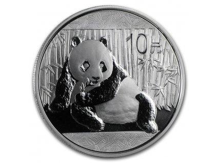 2015 china 1 oz silver panda bu in capsule 84931 Slab