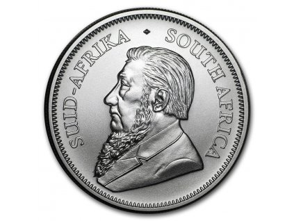 2021 south africa 1 oz silver krugerrand bu 218319 rev