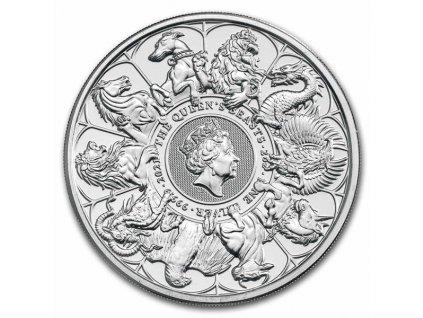 2021 2 oz silver queens beasts completer bu 1(2)