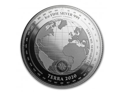 2020 tokelau 1 oz silver 5 terra prooflike 204875 slab