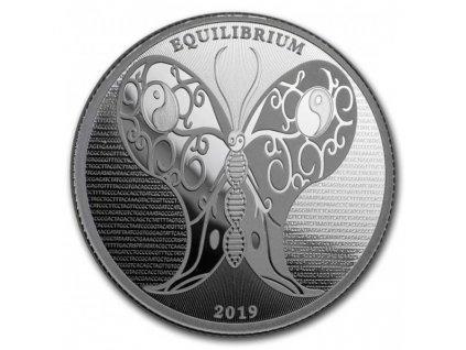 2019 1 oz tokelau silver butterfly observe coin(2)